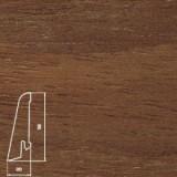 Плинтус шпонированный Бук коричневый